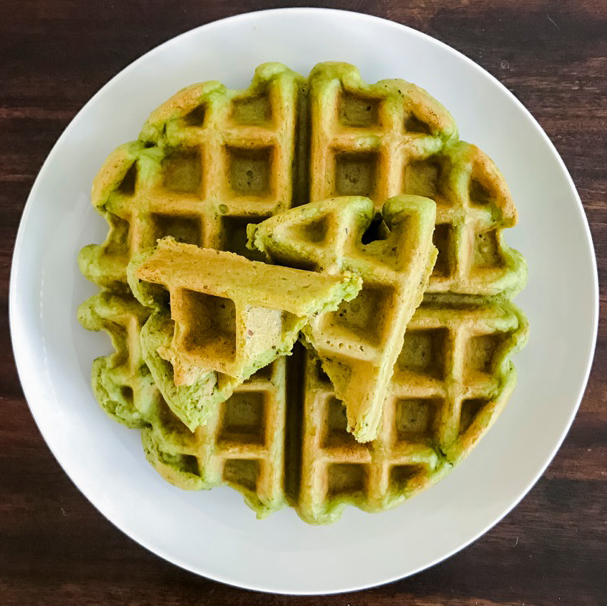 EASY HEALTHY 'HULK' WAFFLES